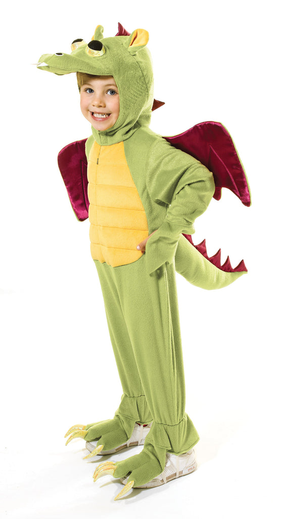 Dragon Fancy Dress Costume 128cm 128cm Green Yellow Red