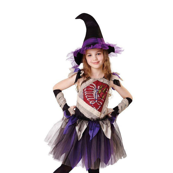 Zombie Witch (S) (Children's Costumes) - Female - Small