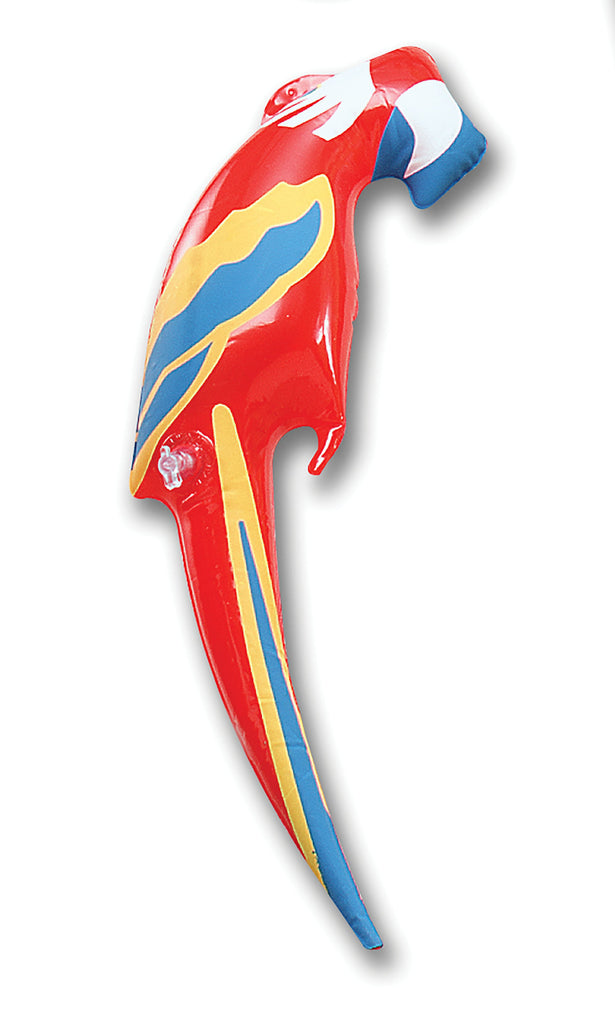 Inflatable Parrot Small Inflatable Items Small  Red/Blue/Yellow