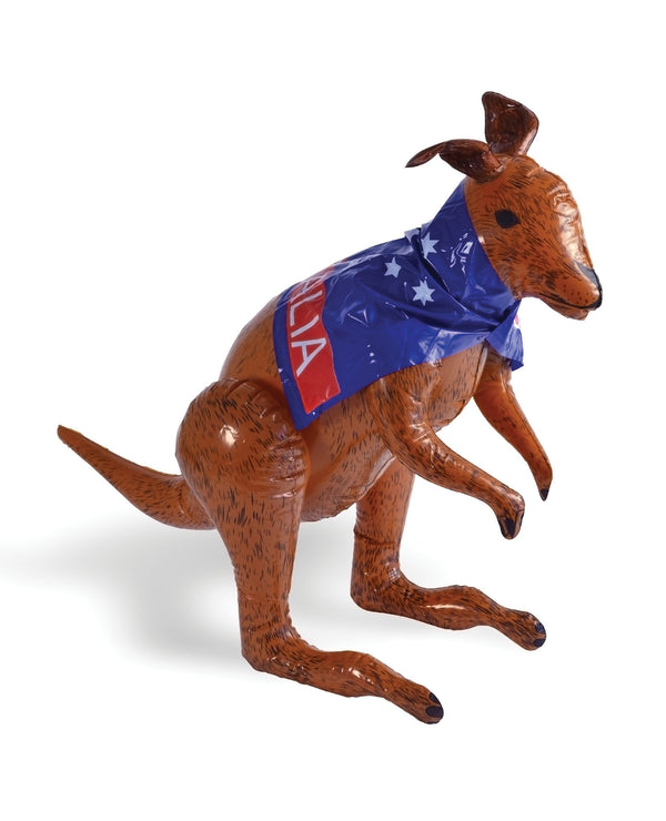 Inflatable Kangaroo Inflatable Items One Size  Brown