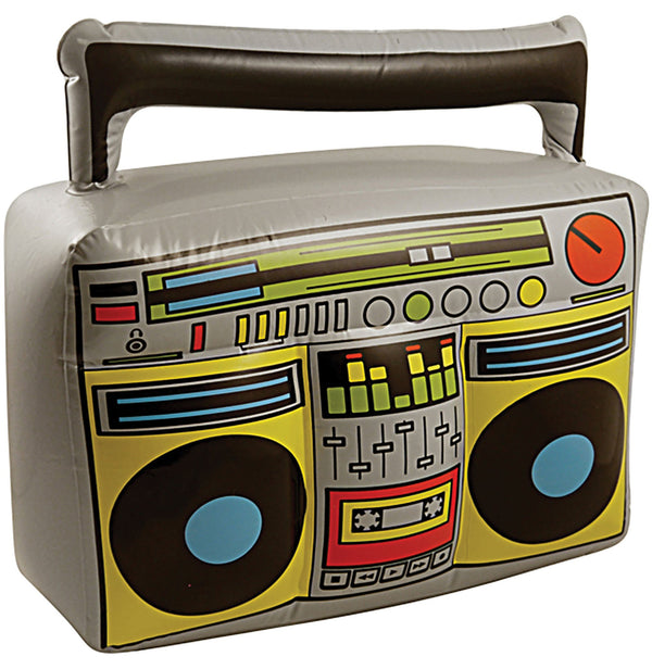 Inflatable Boom Box Unisex Adult One Size Colour : Grey