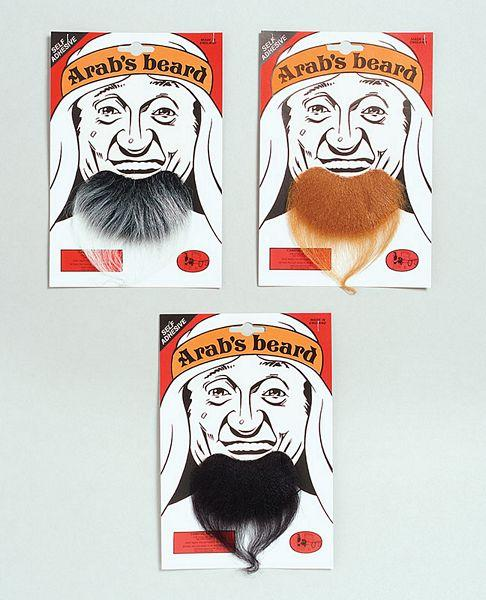 Goatee Arab Beard Brown Moustaches And Beards Mens One Size
