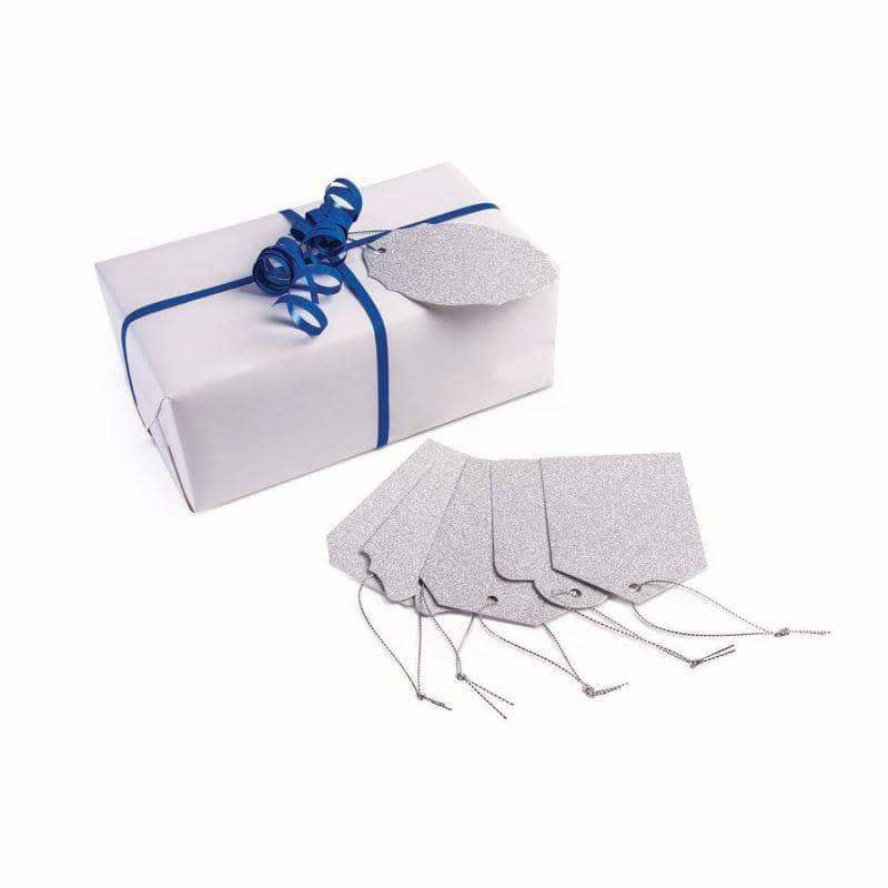 Gift Tags Diamond Silver