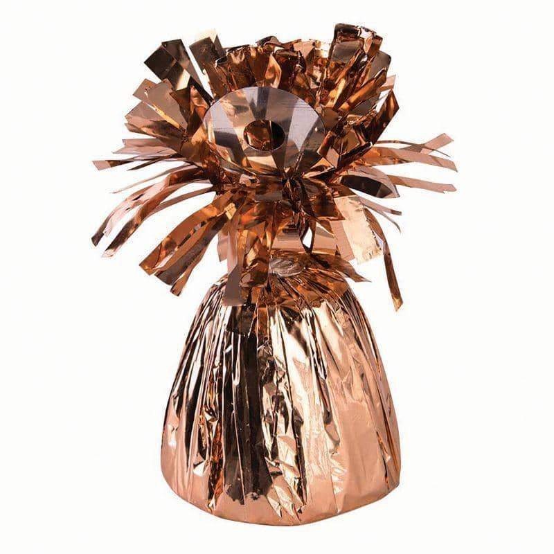 Balloon Weight Small Rose Gold Metallic