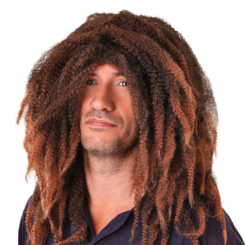 Mens Bob Marley Dreadlock. (Wigs) Male One Size-Wigs > Men's Wigs-MAD USA