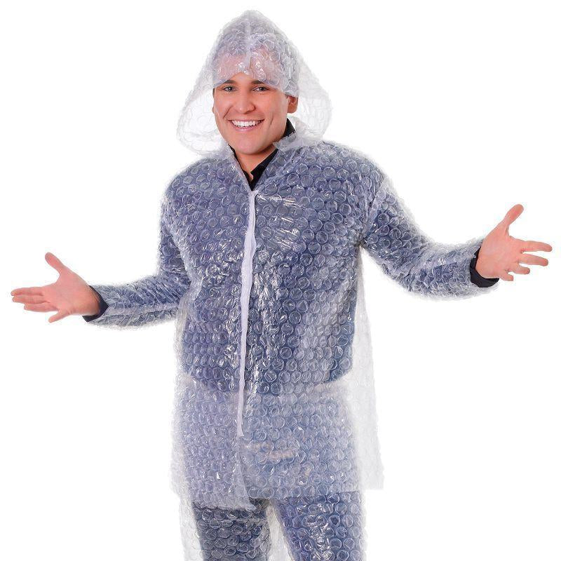 "Mens Bubble Wrap. (Adult Costumes) Male Chest Size 44"" Halloween Costume-Adult Costumes > Generic Mens Costumes-MAD USA"