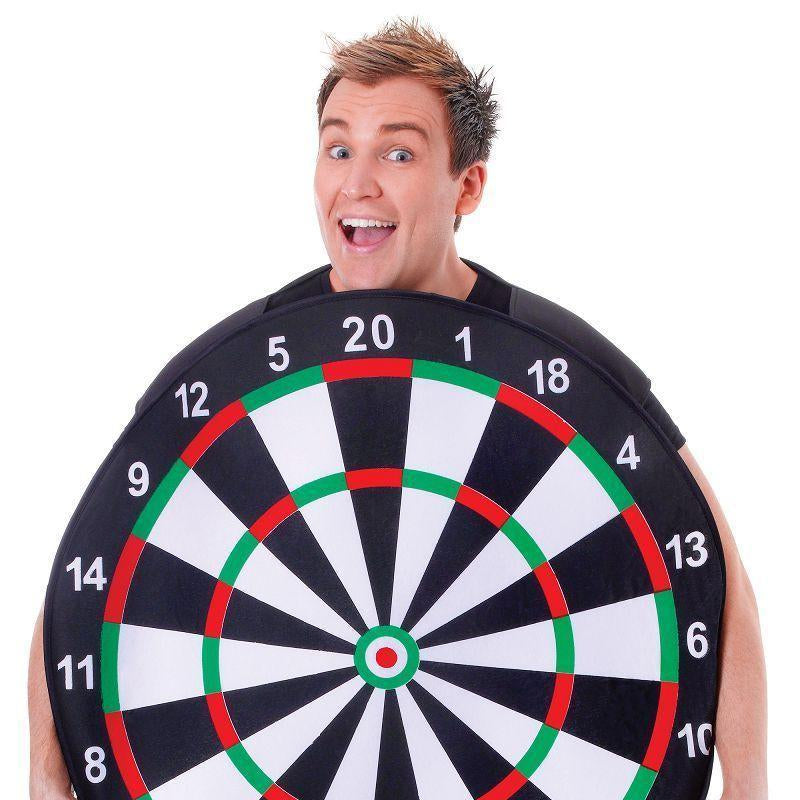 "Mens Dart Board. (Adult Costumes) Male Chest Size 44"" Halloween Costume-Adult Costumes > Generic Mens Costumes-MAD USA"