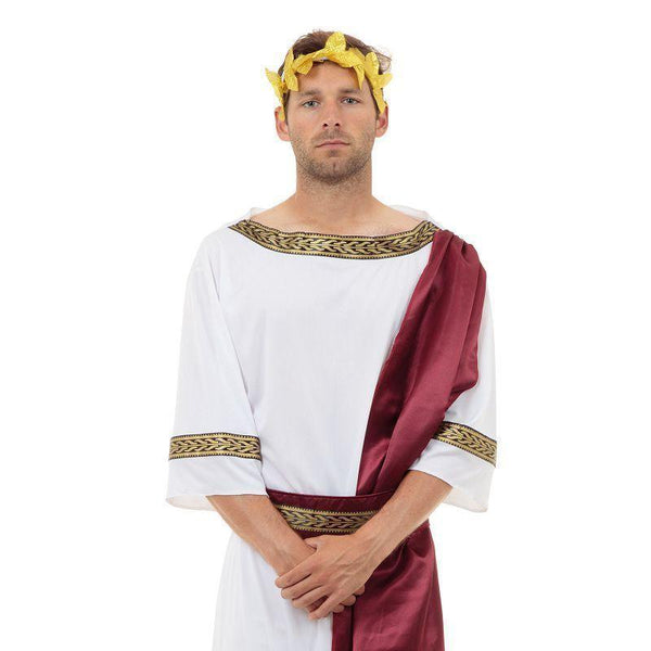"Mens Greek God. (Adult Costumes) Male Chest Size 44"" Halloween Costume-Adult Costumes > Generic Mens Costumes-MAD USA"