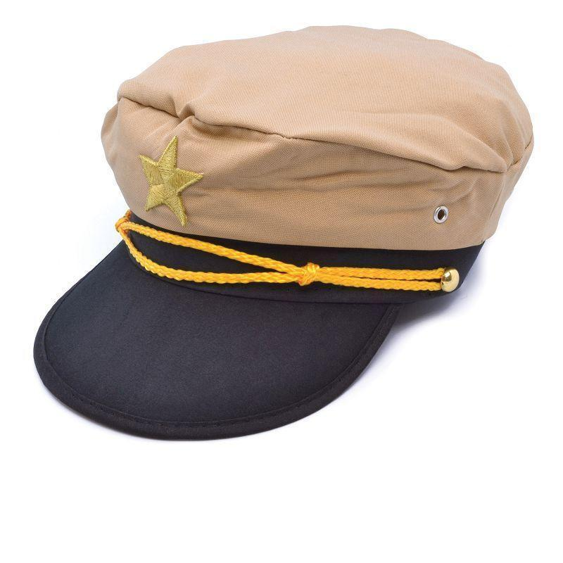 Mens Officer Hat. (Hats) Male One Size-Mens Hats-MAD USA