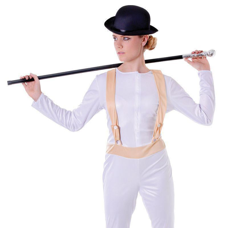Womens Clockwork Orange (Female). (Adult Costumes) - Female - UK Size 10-14 Halloween Costume-Generic Costumes > Generic Mens Costumes-MAD USA
