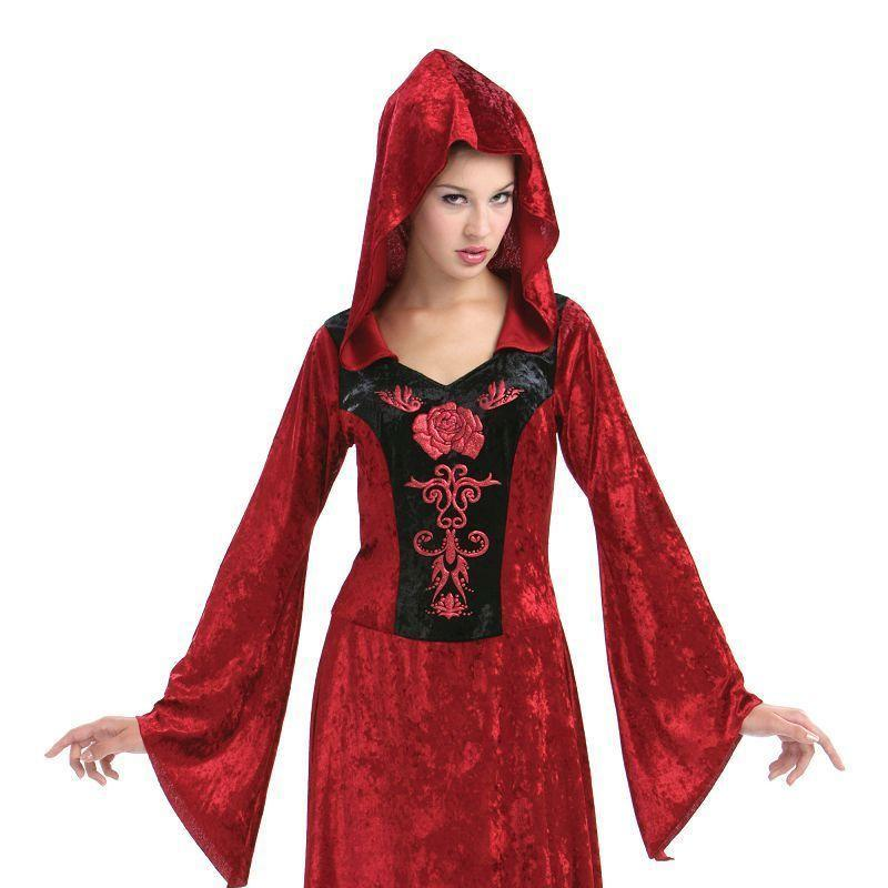 Womens Gothic Maiden. (Adult Costumes) - Female - UK Size 10-14 Halloween Costume-Generic Costumes > Generic Mens Costumes-MAD USA