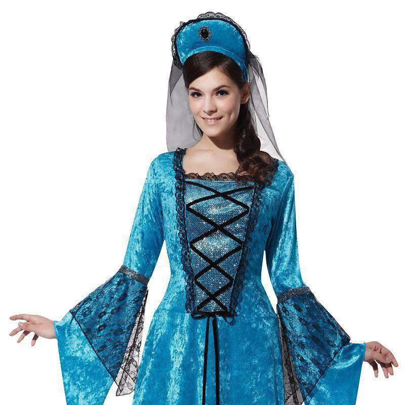Womens Royal Princess. (Adult Costumes) - Female - UK Size 10-14 Halloween Costume-Generic Costumes > Generic Mens Costumes-MAD USA