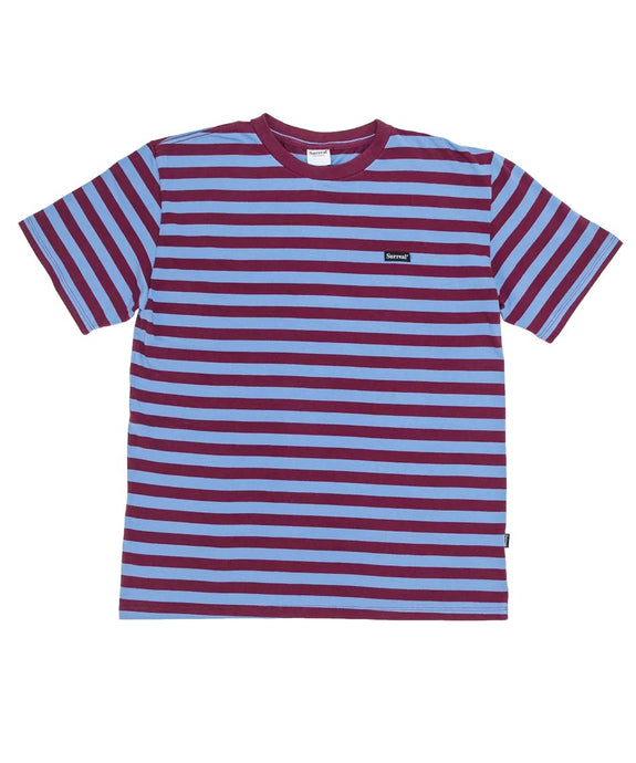 Bordeaux Blue Stripes T-Shirt