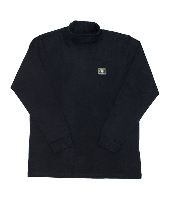 Hard Working Turtle Neck Long Sleeve Shirt