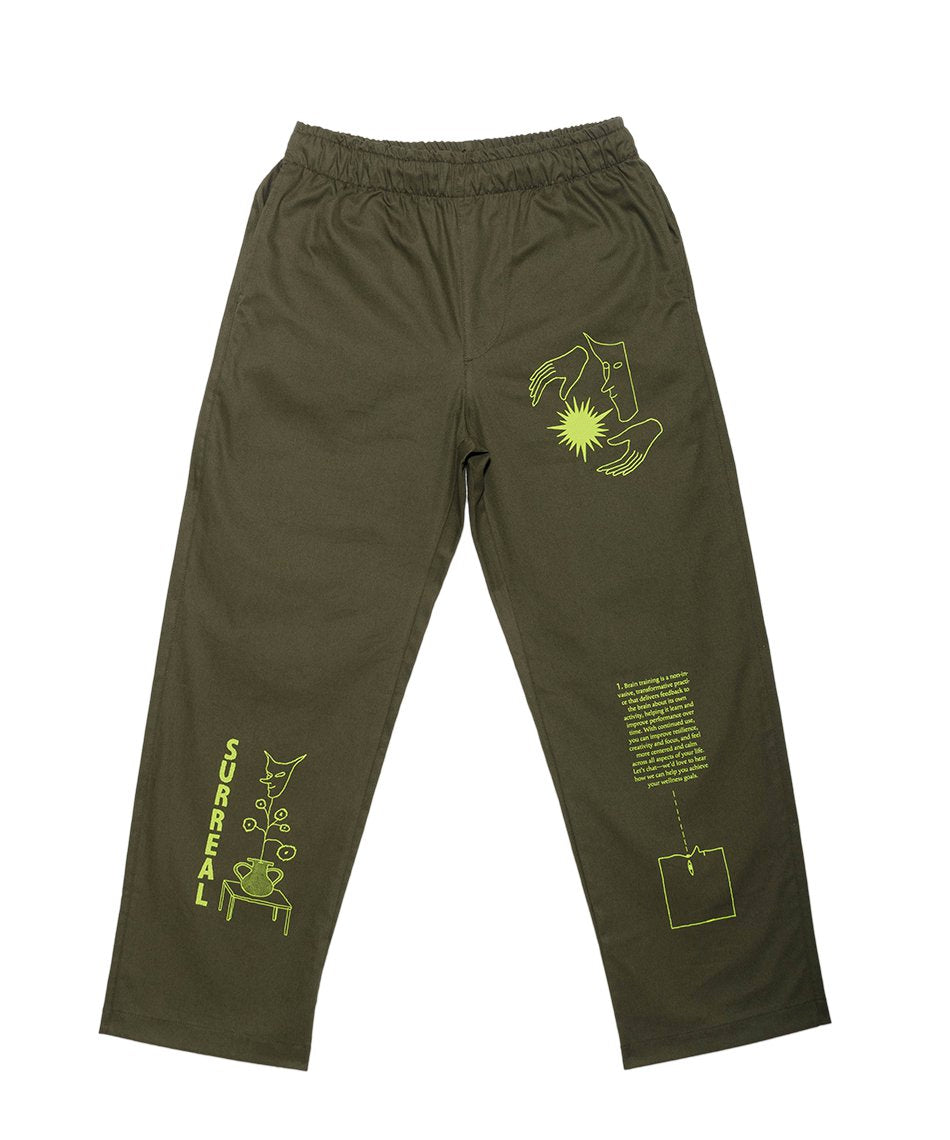 Brain Training Green Pants