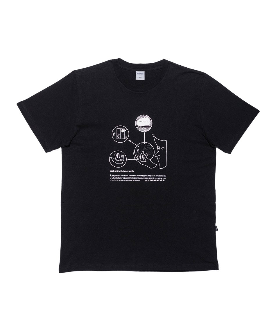 Brain Training Black T-Shirt