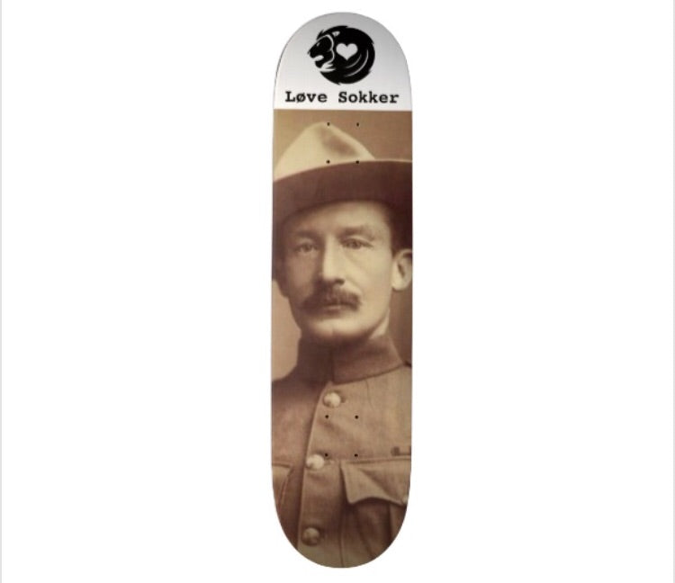 Robert Baden Powell Skateboard