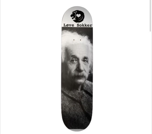 Albert Einstein Skateboard