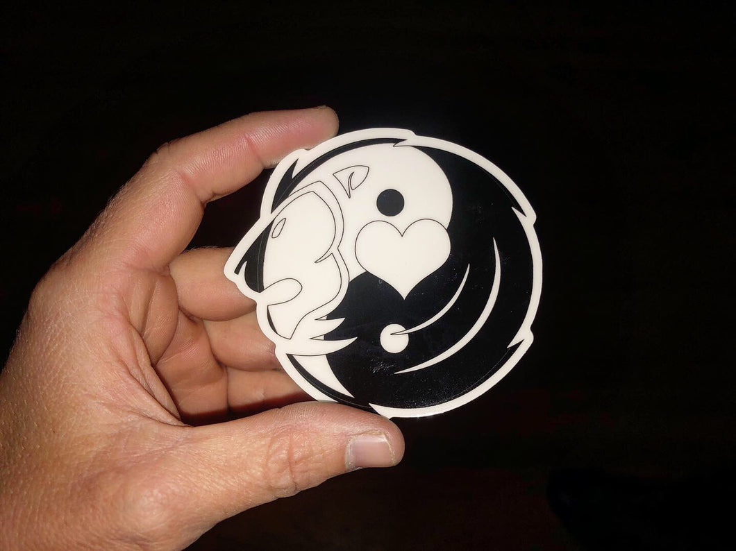 Aten Glow in the Dark-Yin and Yang