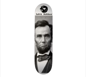 Abraham Lincoln Skateboard