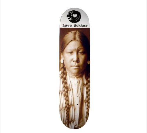 Buffalo Calf Road Woman Skateboard