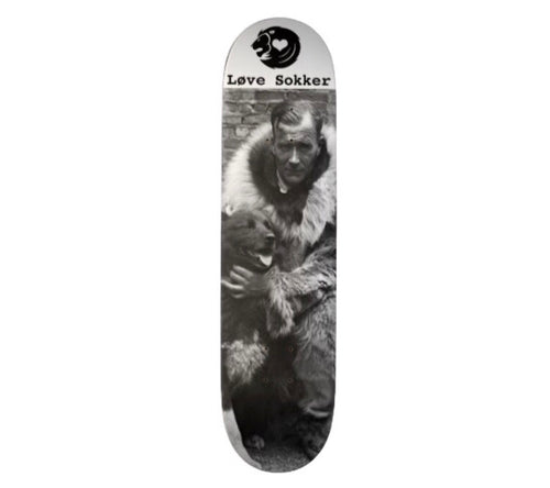 Gunnar Kaasen and Balto Skateboard