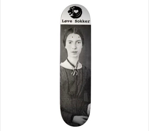 Emily Dickinson Skateboard