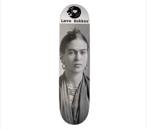 Frida Kahlo Skateboard