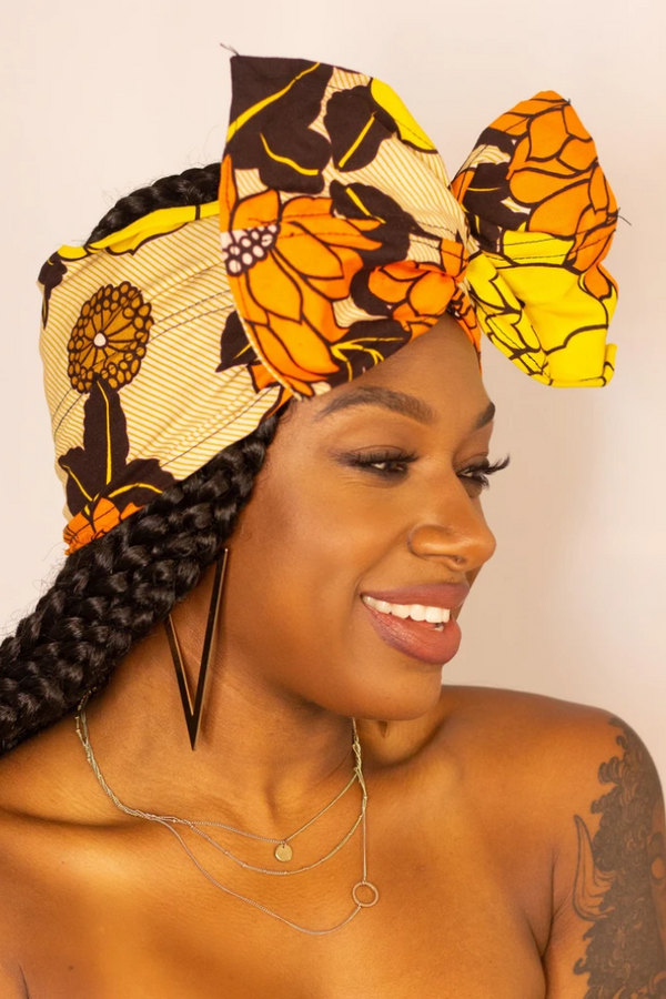 CAIRO WIRED HEADWRAP