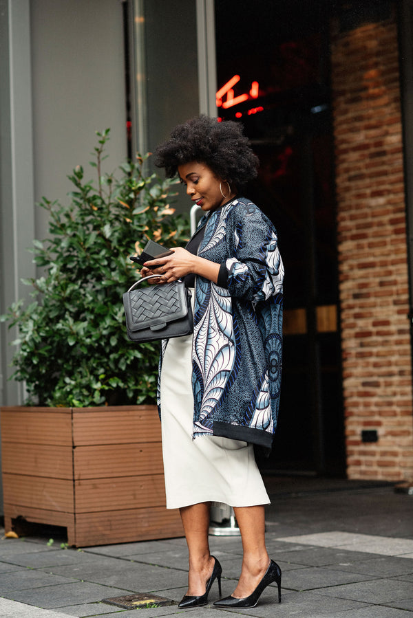 AMMA LONG BOMBER JACKET