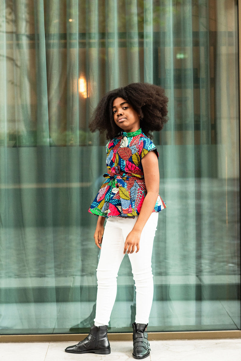 MINI TIWA MULTICOLOURED TOP