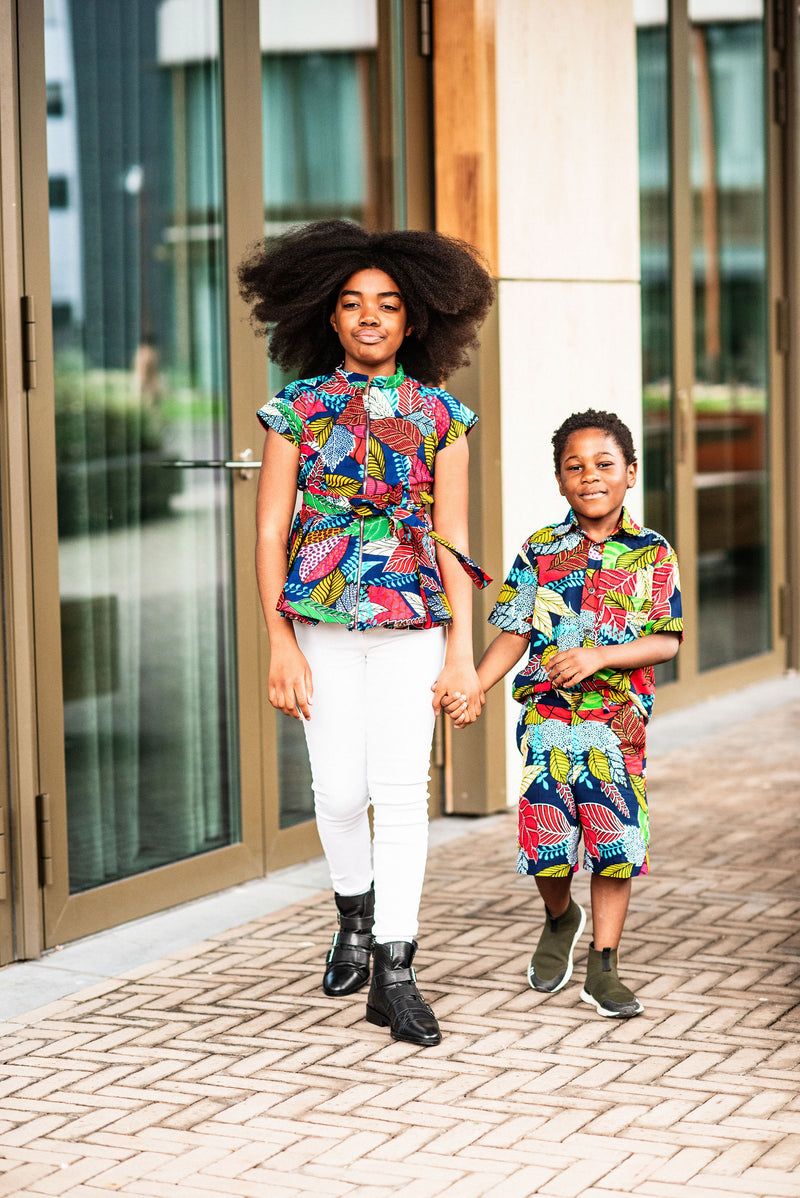 MINI TIWA MULTICOLOURED BOY SET