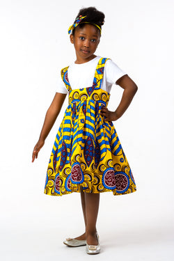 EFUA PINAFORE DRESS