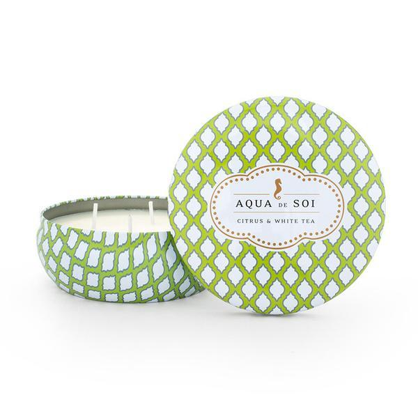 Aqua de SOi Citrus & White Tea 21oz Tin