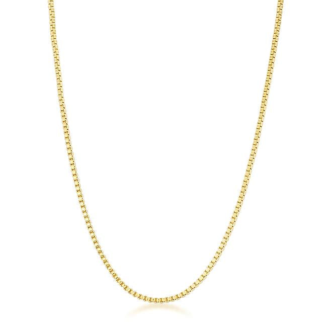 Golden Rolo Chain - 2mm