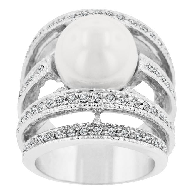 Princess Cut Triplet Anniversary Ring