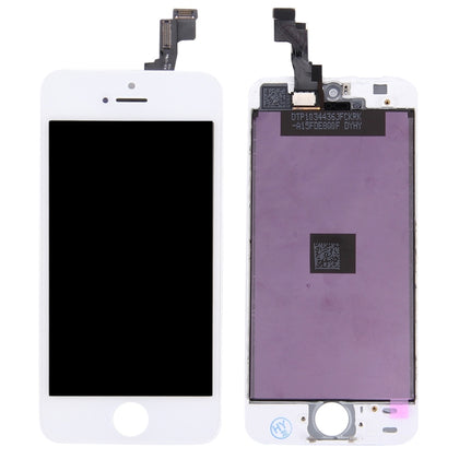 iPhone 5S / Ecran BLANC (Compatible) - PhoneParts.ch