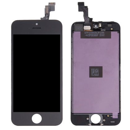 iPhone 5S / Ecran NOIR (Compatible) - PhoneParts.ch