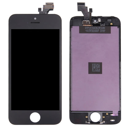 iPhone 5 / Ecran NOIR (Compatible) - PhoneParts.ch