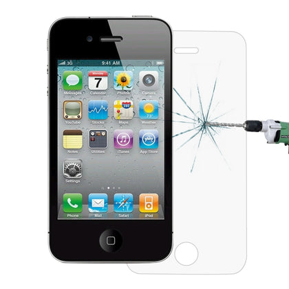 iPhone 4/4S - Verre Trempé (Standard) - PhoneParts.ch