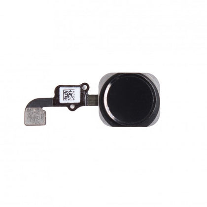 Nappe bouton home pour iPhone 6 NOIR - PhoneParts.ch