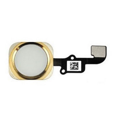 Nappe bouton home pour iPhone 6 OR - PhoneParts.ch