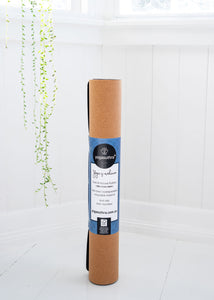 Eco-Friendly Natural Rubber and Cork Yoga Mat 3mm