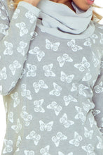 Load image into Gallery viewer, Golf - dress with big pockets - butterflies 135-2