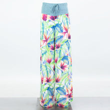 Load image into Gallery viewer, Wide Leg Tropical Maxi Pants