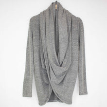 Load image into Gallery viewer, Twist Front Long Sleeve Cardigan
