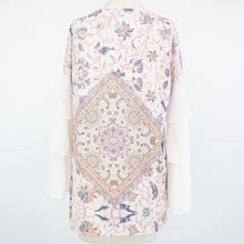 Load image into Gallery viewer, Layered Bell Sleeve Blouse - Ivory