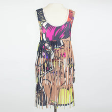 Load image into Gallery viewer, Las Vegas Girl Layered Fringe Tunic Dress