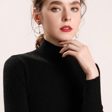 Load image into Gallery viewer, Heliar 2021 Spring Women Turtleneck Sweater Long Sleeve Casual Knitted Pullovers Thick Jumpers Underwear Sweaters For Women