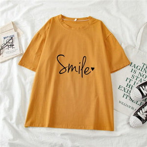 Letter Print Women's T-shirts O-neck Short Sleeve Top Tee 2021 New Fashion Spring Summer Female Casual Basic T-shirt Clothing